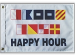 Code Flag Happy Hour 12x18