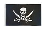 Calico Jack - Skull and Cross Swords Flag